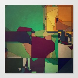 Patchwork of Color Canvas Print