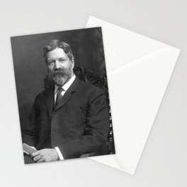 George Foster Peabody Portrait - 1907 Stationery Cards