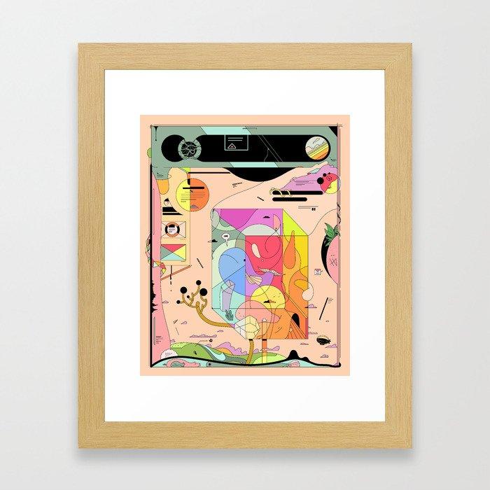 Pfpfpfpf Framed Art Print