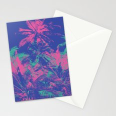 Colored Palms Stationery Cards