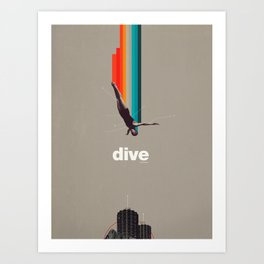 Dive Into My Soul Art Print