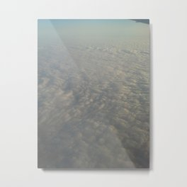 Clouds from the top Metal Print