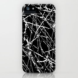 b&w iPhone Case