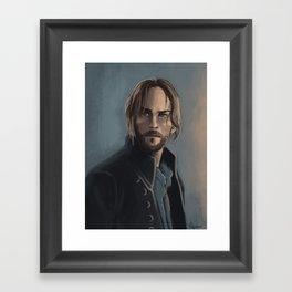 Ichabod Crane Framed Art Print