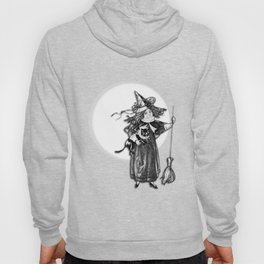 Little Witch Halloween Design Hoody