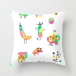 The Strangers Throw Pillow
