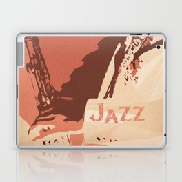 Jazz Sax Laptop & iPad Skin