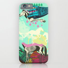 GHOST HORSE iPhone Case