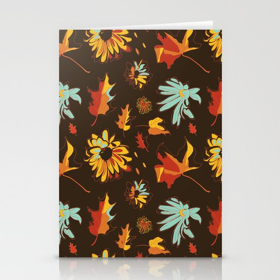 Fall/Autumn Stationery Cards