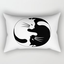 Cats yin Rectangular Pillow