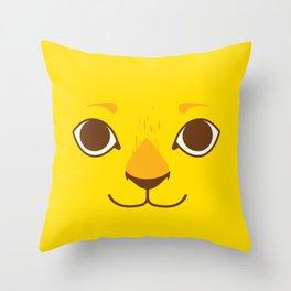 Little Lion Throw Pillow