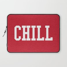 Chill Quote Laptop Sleeve