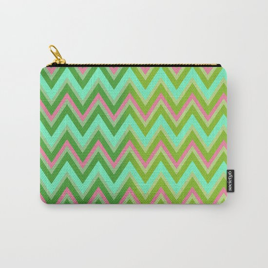 HappyChevron Carry-All Pouch