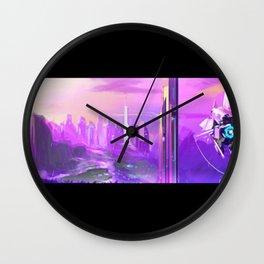 "Concept Art ""la vie en rose"" Wall Clock"