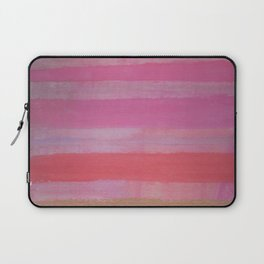 Thick Bronzed Stripes Laptop Sleeve