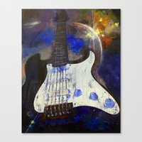 heavy metal Canvas Prints featuring Heavy Metal by Michael Creese