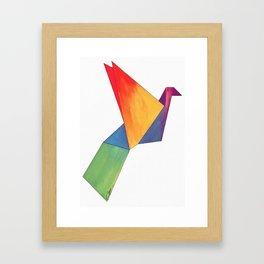 Tsuru Framed Art Print
