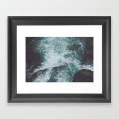 Stormy Waters Framed Art Print