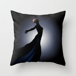 Cancer...Rise Above It Throw Pillow