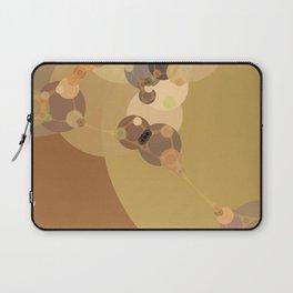 carmen - abstract design warm tan brown caramel beige taupe Laptop Sleeve