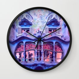 Gaudi Wall Clock
