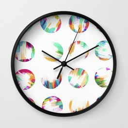 24 Dots Wall Clock
