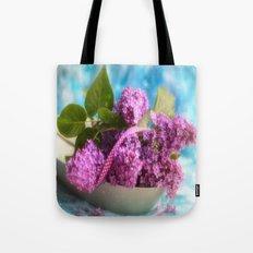 Syringa vulgaris #lilac still life Tote Bag