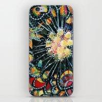 big bang iPhone & iPod Skins featuring Big Bang by Diane Sherman