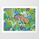 Colorful Jungle by sunlee_art