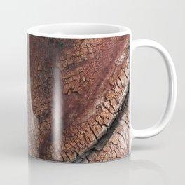 burned wood texture Coffee Mug