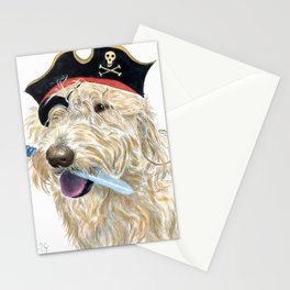 Labradoodle Pirate Stationery Cards