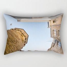 Looking up in Saint-Malo Rectangular Pillow