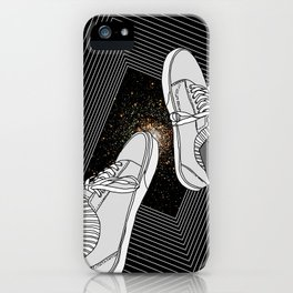 FALLING INTO THE SPACE iPhone Case