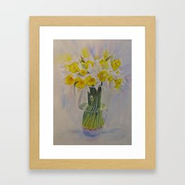 Spring of course! Framed Art Print