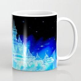 Blue Ice Frozen Enchanted Castle Coffee Mug
