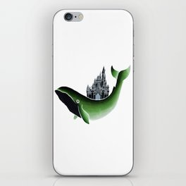 Whale Castle iPhone Skin