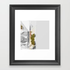 Vancouver/Toronto 2/2 Framed Art Print