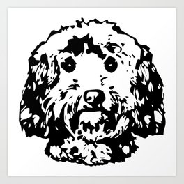 COCKAPOO DOG Art Print