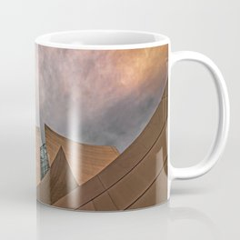 Architectural abstract of the home of the LA Philharmonic. Architect: Frank Gehry Coffee Mug
