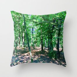 Stay Photography Throw Pillow