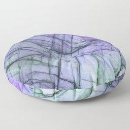 Purple Labradorite Floor Pillow