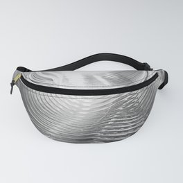 Grey Swirl White Background A Photograph From A Slinky Toy Fanny Pack