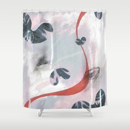 Just enough Shower Curtain