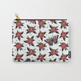 Butterfly Classic Tattoo Flash Carry-All Pouch