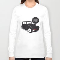 kit king Long Sleeve T-shirts featuring Grandpa kit by pludadesign