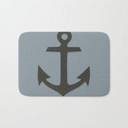 Blue Anchor Bath Mat