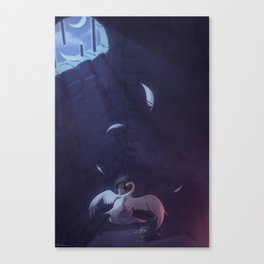 The Wild Swans - The Cell Canvas Print