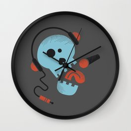 Calavera rockera / Rocking skull Wall Clock