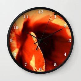 poppy 3 Wall Clock