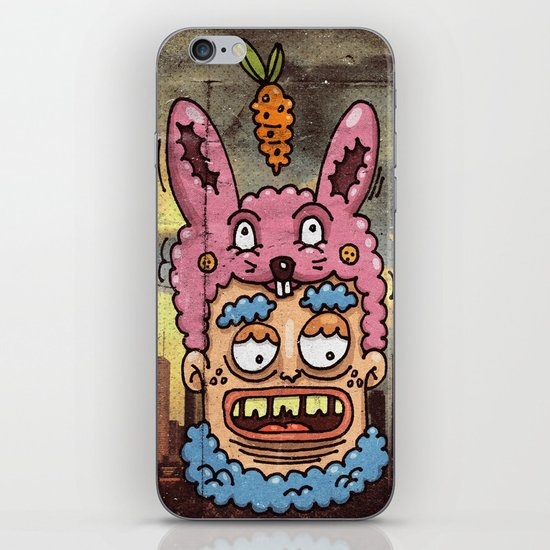 Happy Rabbit iPhone & iPod Skin